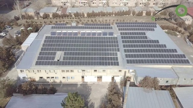 solar power plant - Arpimed LLC - Roof mount solar power plant