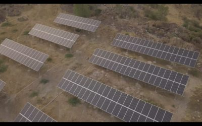 solar power - Arzni Health Resort - Ground mounted solar power plant