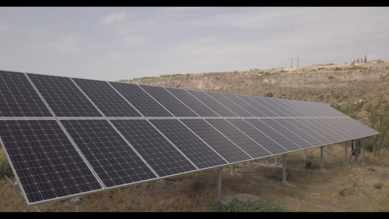 solar power - Arzni Health Resort - Ground mounted solar power plant