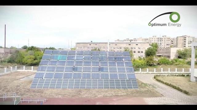 solar power plant - Izipanel LLC - Roof mounted solar power plant