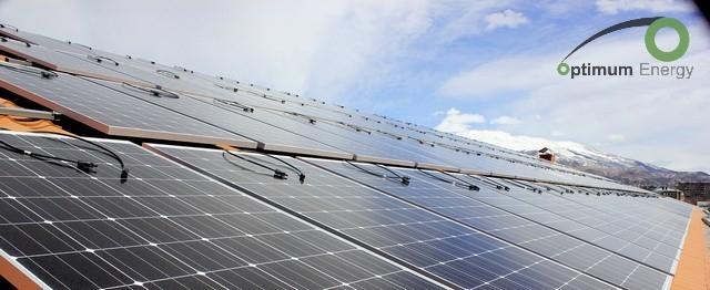 solar power plant - Evangelical Church - Solar power plant