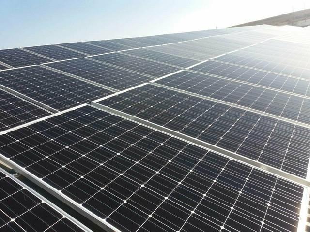 Евангелическая церковь - солнечная электростанция