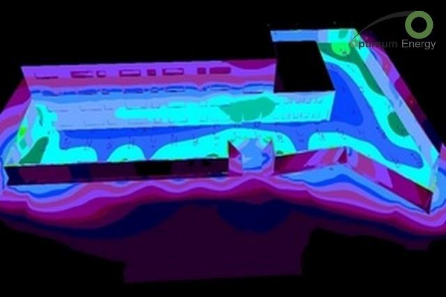 Solar thermal system - Hrazdan penitentiary - Solar thermal system