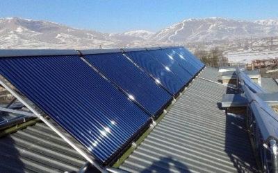 արևային ջերմահամակարգ - Հրազդան քրեակատարողական հիմնարկ - Արևային ջերմահամակարգ