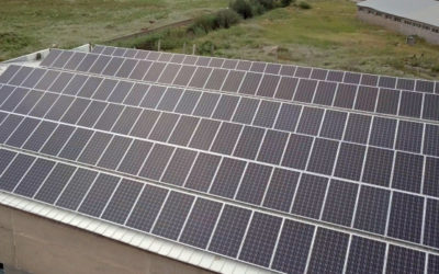 solar power - Izipanel LLC - Roof mounted solar power plant