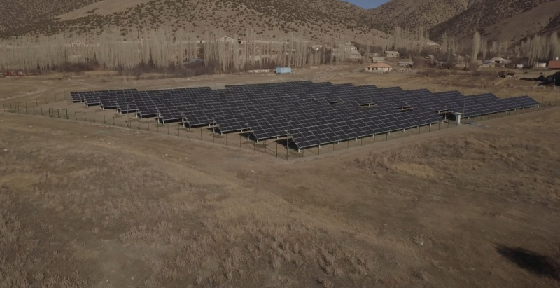 solar power plant - Tufenkian Hospitality chain of hotels - Solar power plant